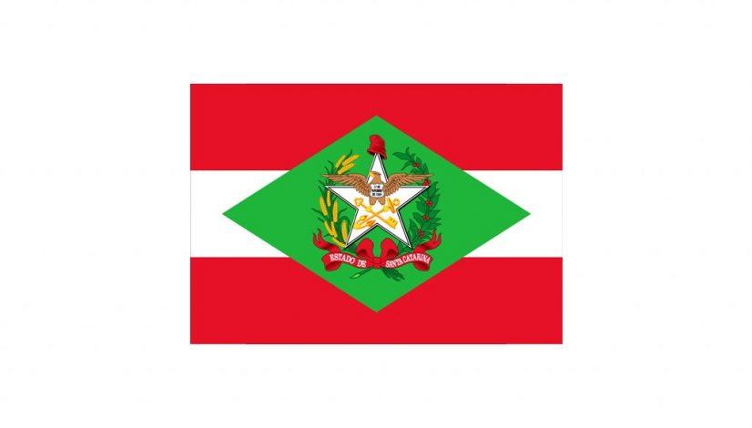Bandeira do estado de Santa Catarina