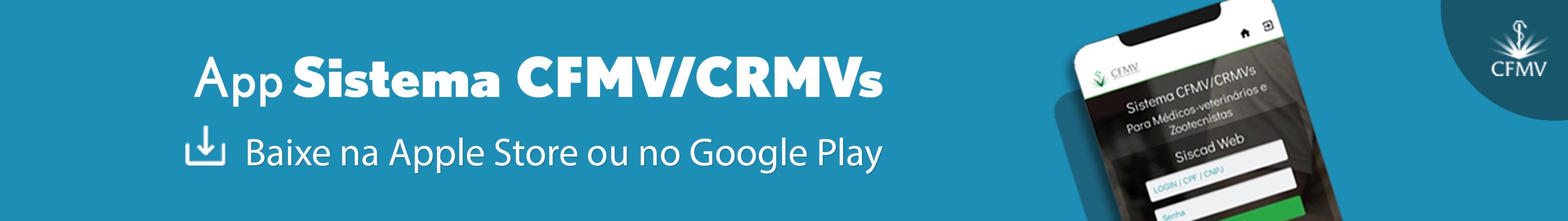 Aplicativo do CFMV