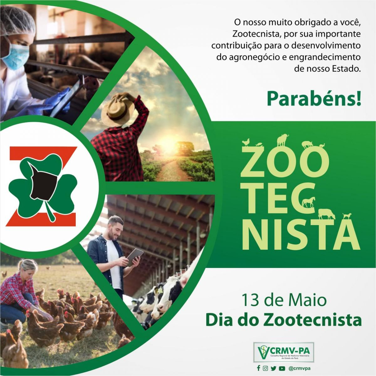 Dia do Zootecnista CRMV-PA