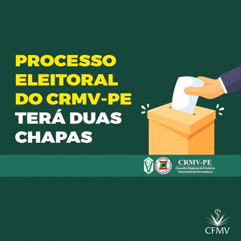 Processo eleitoral do CRMV-PE terá duas chapas