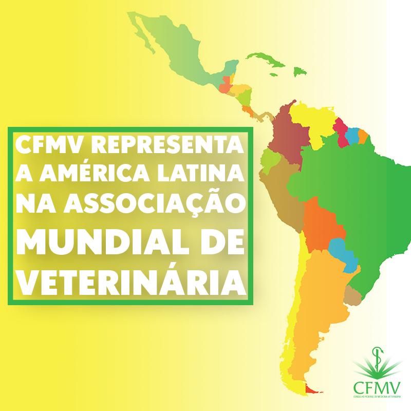 CFMV representa a América Latina na Associação Mundial de Veterinária