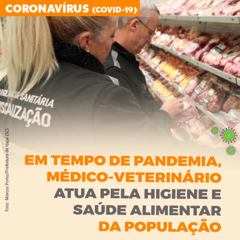 Em tempo de pandemia, médico-veterinário atua pela higiene e saúde alimentar da população
