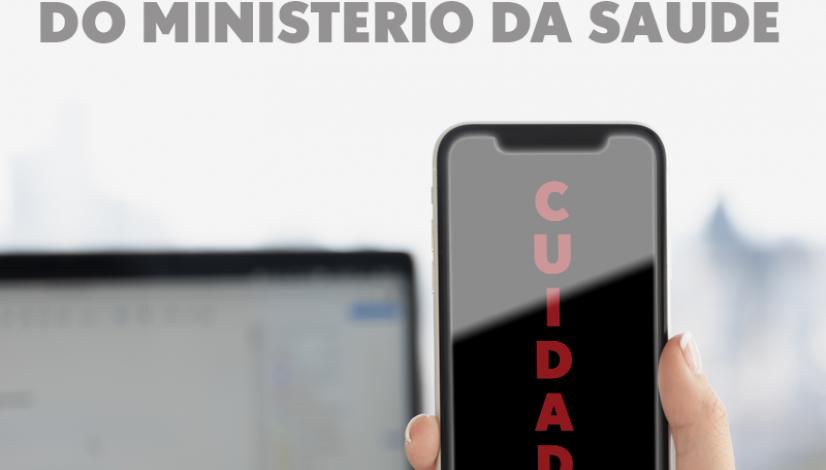 Novo golpe usa o nome do Ministério da Saúde