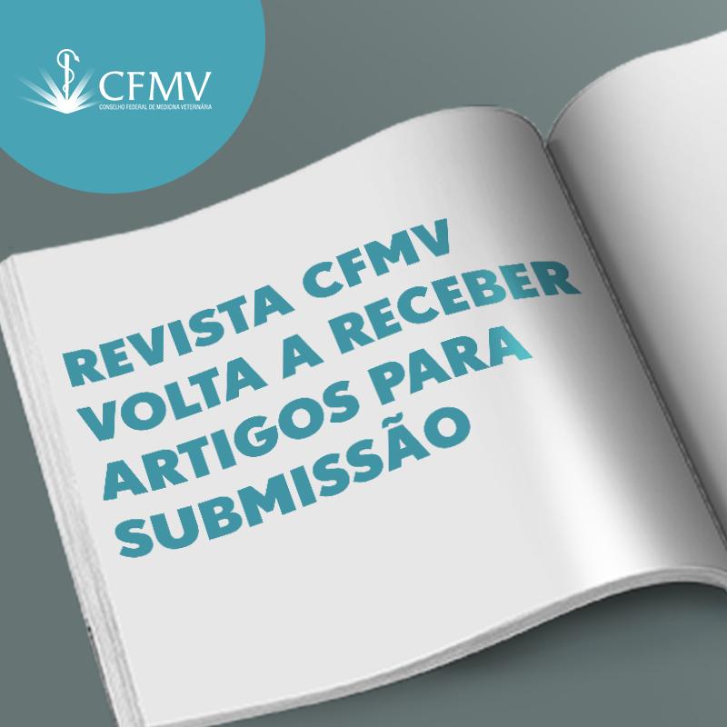 Revista CFMV volta a receber artigos