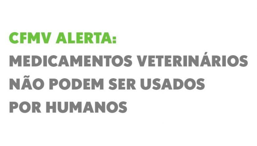 CFMV alerta: medicamentos veterinários não podem ser usados por humanos