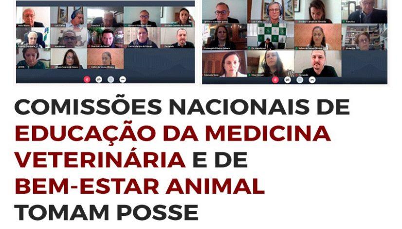Comissões Nacionais de Educação da Medicina Veterinária e de Bem-Estar Animal tomam posse