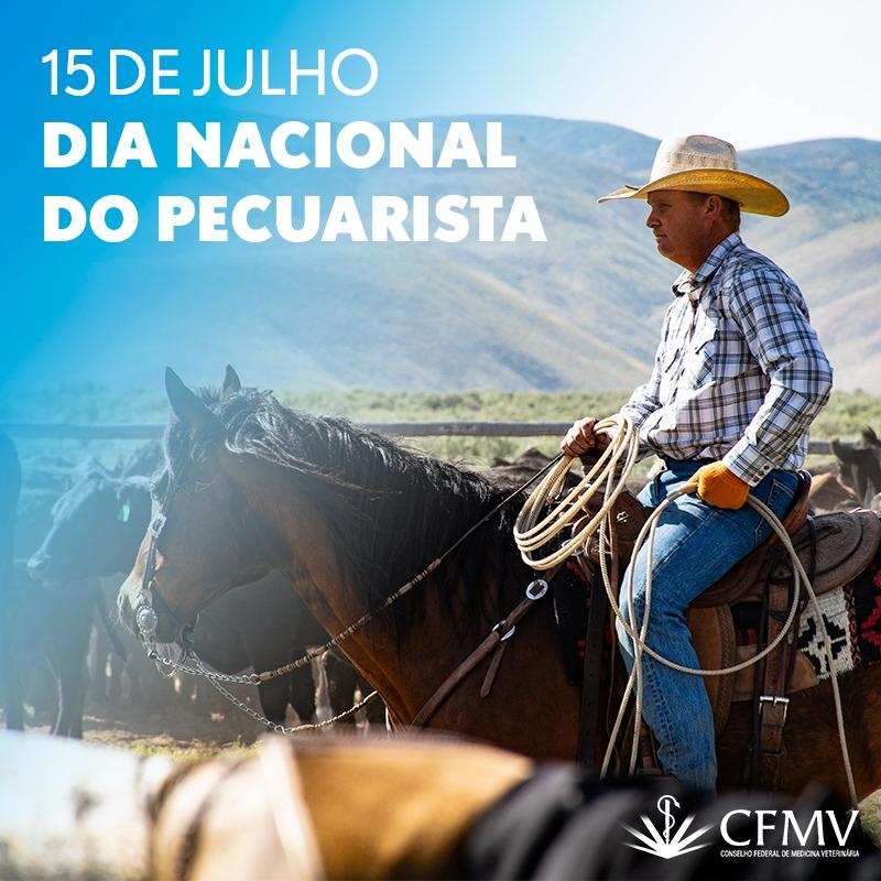 No Dia Nacional do Pecuarista, CFMV comemora crescimento econômico do setor