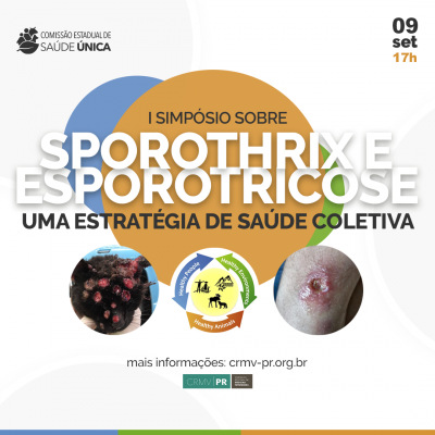 CRMV-PR realiza Simpósio on-line para discutir aspectos da esporotricose