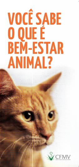 Folder Bem-estar animal