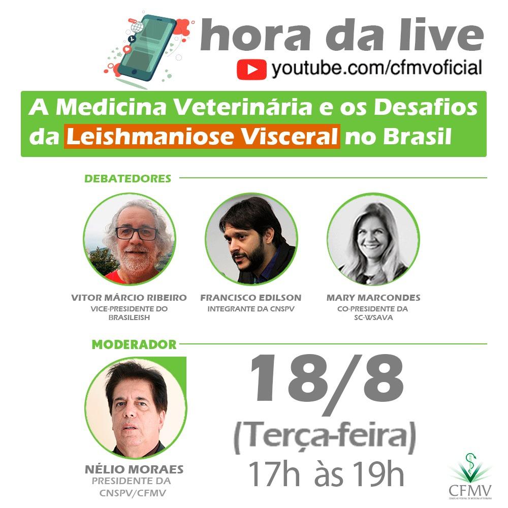 Desafios da Leishmaniose Visceral no Brasil é tema de debate dia 18 de agosto