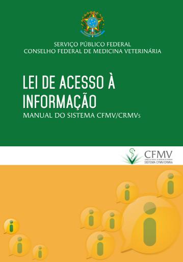 Manual - Lei de Acesso à Informação para o Sistema CFMV/CRMVs