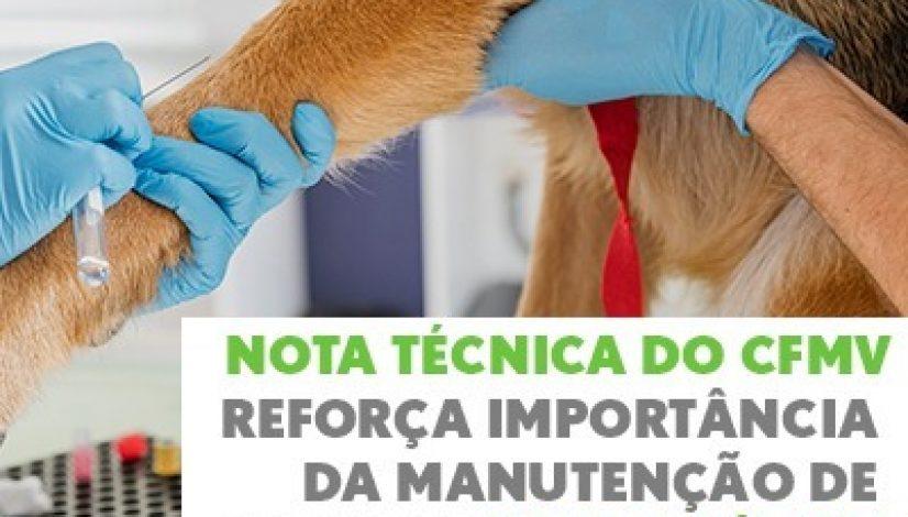 Nota Técnica do CFMV reforça importância da manutenção de serviços veterinários