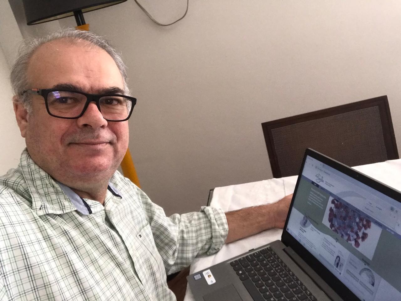 Cícero Pitombo, um dos conselheiros da associação para a América Latina no período de 2020 a 2022