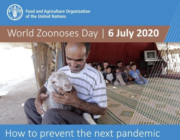 FAO promoverá webinar Como Prevenir a Próxima Pandemia