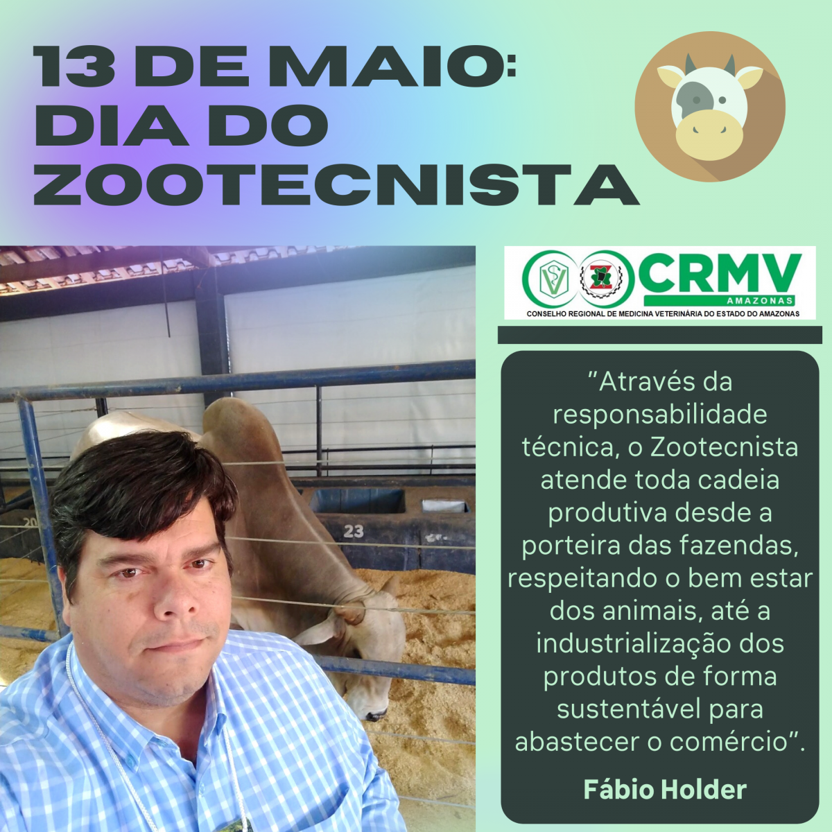 Dia do Zootecnista CRMV-AM