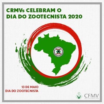 CRMVs celebram o Dia do Zootecnista 2020