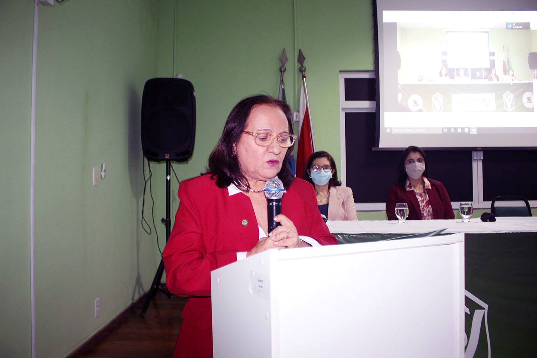 Presidente do CRMV-PA,  Nazaré Fonseca