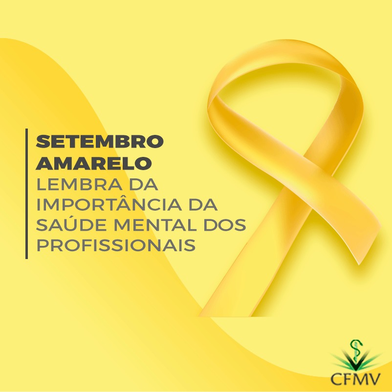 Setembro Amarelo e a importância da saúde mental dos profissionais