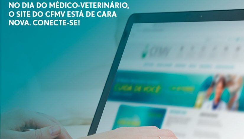 No Dia do Médico-Veterinário, o site do CFMV está de cara nova