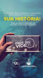 Stories envie seu vídeo
