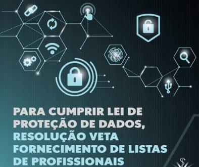 Para cumprir lei de proteção de dados, resolução veta fornecimento de listas de profissionais