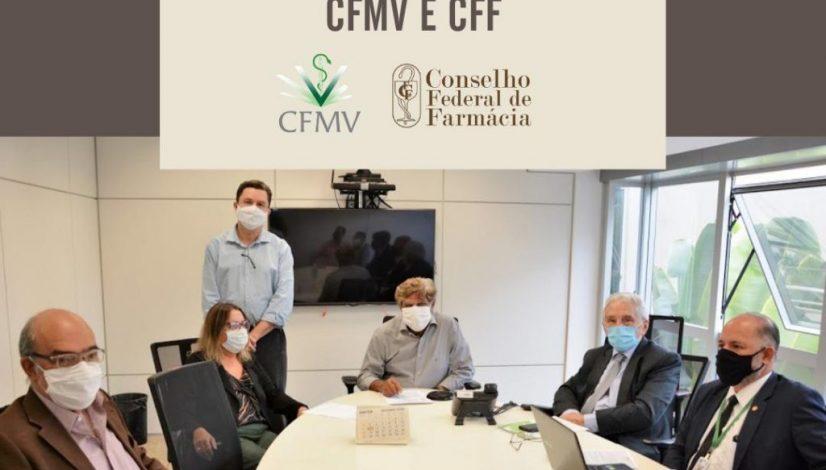 Manipulação de produtos para uso veterinário é tema de reunião entre CFMV e CFF