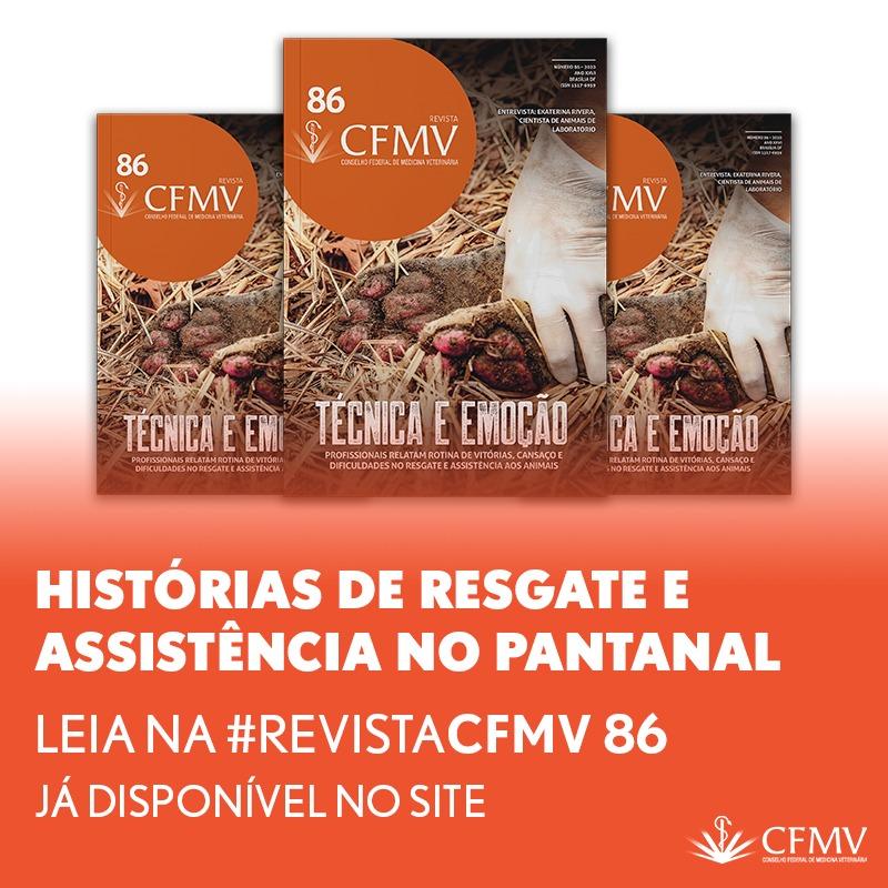 Capa da Revista CFMV
