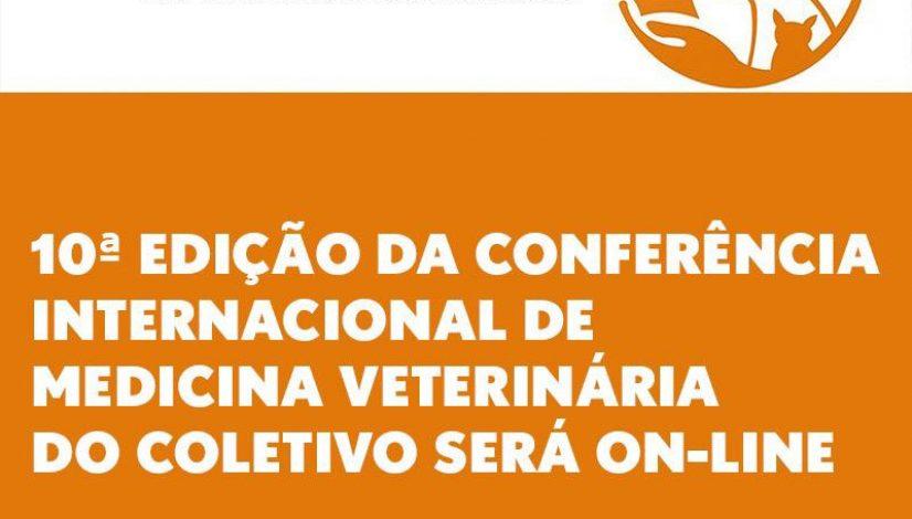 10ª edição da Conferência Internacional de Medicina Veterinária do Coletivo será on-line
