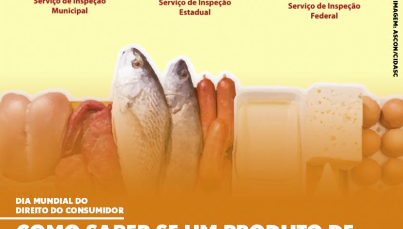 como saber se um produto de origem animal é seguro