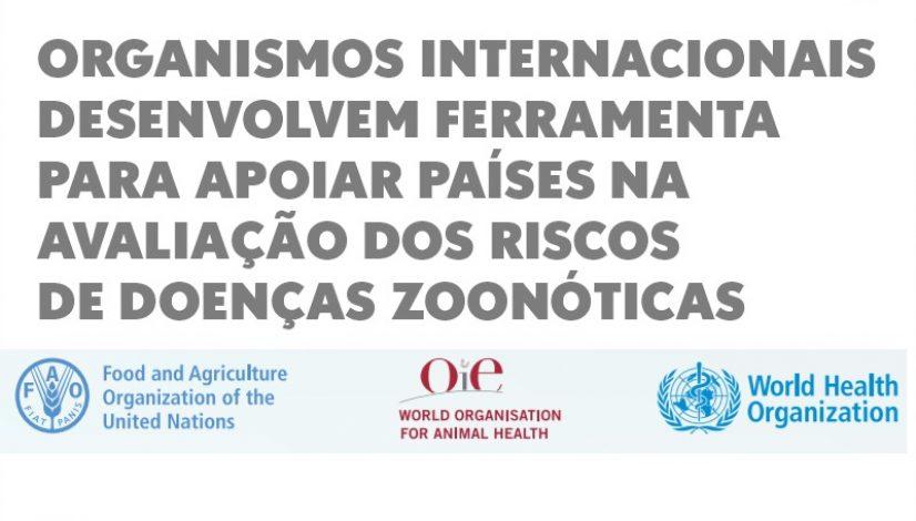 Organismos internacionais desenvolvem ferramenta para apoiar países na avaliação dos riscos de doenças zoonóticas