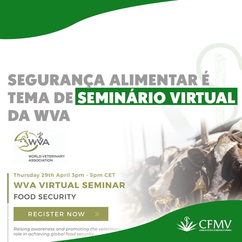 Seminário virtual de Segurança Alimentar