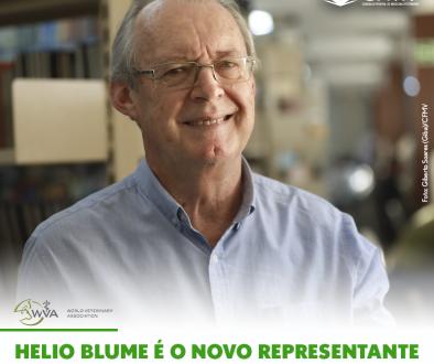Helio Blume é o novo representante do CFMV na WVA