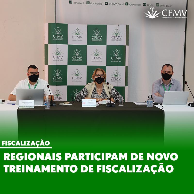 Regionais participam de novo treinamento de fiscalização