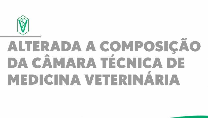Alterada a composição da Câmara Técnica de Medicina Veterinária