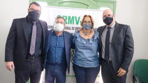 Núcleo de Apoio aos Regionais visita o CRMV-SE