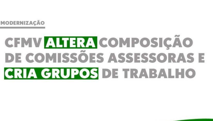 vCFMV altera composição de comissões assessoras e cria grupos de trabalho