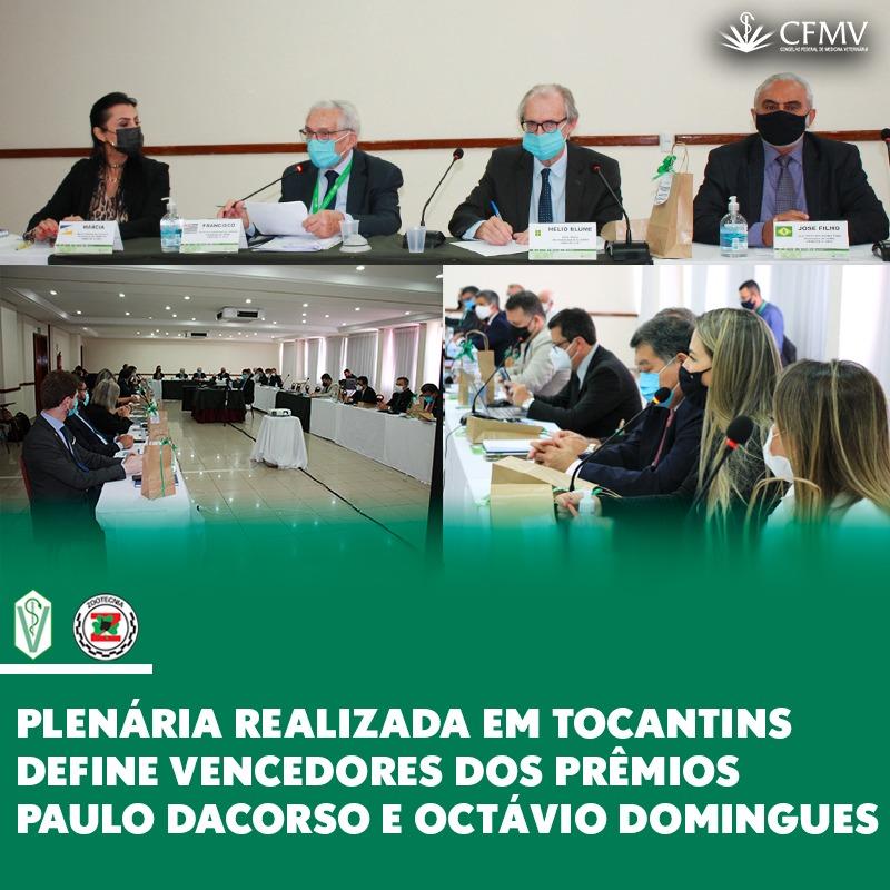 Plenária realizada em Tocantins define vencedores dos Prêmios Paulo Dacorso e Octávio Domingues