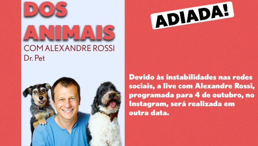 Live Alexandre Rossi Adiada