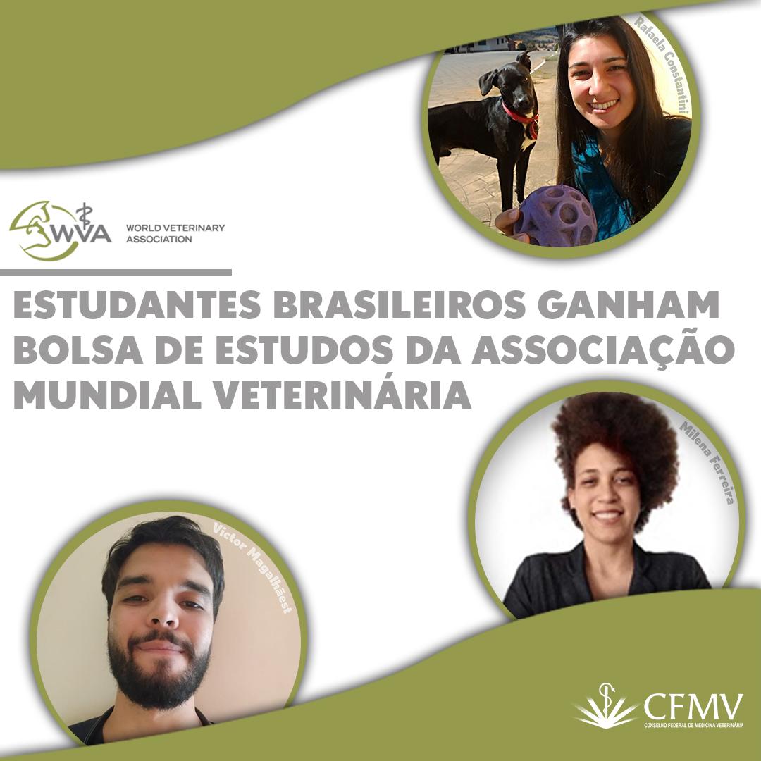 Estudantes brasileiros ganham bolsa de estudos da Associação Mundial Veterinária